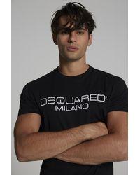 DSquared² Kurzärmliges T-Shirt - Schwarz