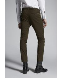 DSquared² - Stretch Cotton Twill Cool Guy Pants - Lyst