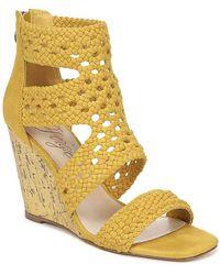 Fergie Rebekah Wedge Sandal - Yellow