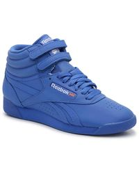 Reebok Freestyle Hi High-top Sneaker - Blue