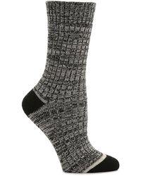 Sorel Space Dye Crew Socks - Gray