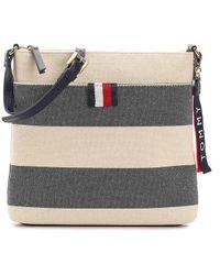 Tommy Hilfiger - Stripe Crossbody Bag - Lyst