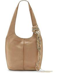 Lucky Brand Clyo Leather Hobo Bag - Brown