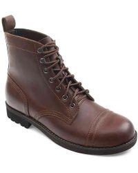Eastland Jayce Cap Toe Boot - Brown