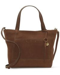 Lucky Brand Don Leather Tote - Brown