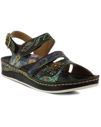 Spring Step - Suzanne Wedge Sandal - Lyst