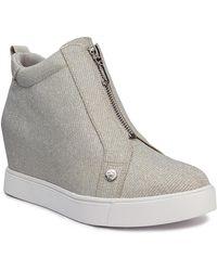 Juicy Couture Joanz Wedge Sneaker - Metallic