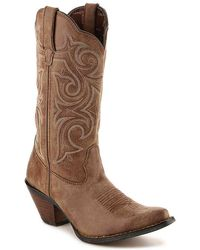 Durango - Scall-upped Cowboy Boot - Lyst