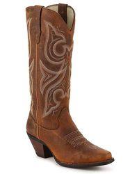 Durango Jealousy Cowboy Boot - Brown
