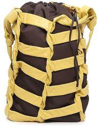 Bottega Veneta Borsa Leather Bucket Bag - Multicolor