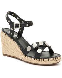 2b4dbe1e1db Charles David Nacho Espadrille Wedge Sandals in Natural - Save 50 ...
