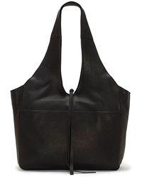 Lucky Brand Rhyn Leather Hobo Bag - Black