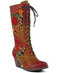 Spring Step Malagie Boot - Red