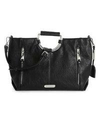 Max Studio Tebon Shoulder Bag - Black