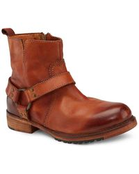 Vintage Foundry Co. Morgan Motorcycle Boot - Brown