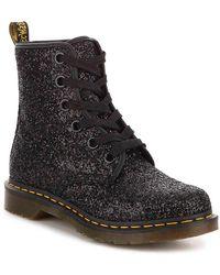 Dr. Martens Dr. Martens 1460 Farrah Chunky Glitter Womens Black Boots