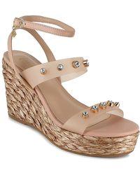 Nanette Lepore Serafina Wedge Sandal - Multicolor