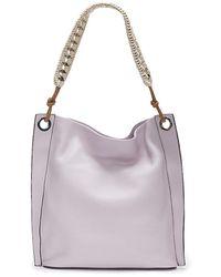 Vince Camuto Lenza Hobo Bag - Purple