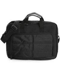 Kenneth Cole Reaction Life Is Too Port Laptop Messenger Bag - Black