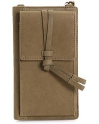Lucky Brand Darb Leather Wallet - Green