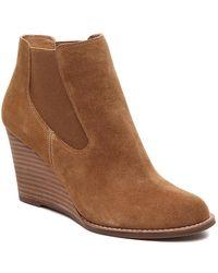 Lucky Brand Yamka Wedge Chelsea Boot - Brown