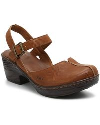 b.ø.c. Barbuda Clog - Brown