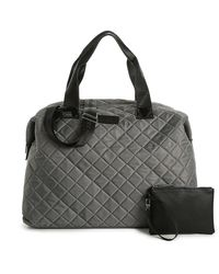 Steve Madden Bsporty Weekender Bag - Gray