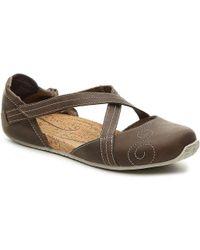 151df5c6b85 Lyst - Ahnu Salena Flat Sandals in Red