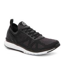 Lyst - Reebok Zprint Run Men Round Toe Synthetic Gray Running Shoe ... 05399cd3c