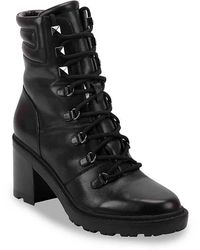 Marc Fisher Laboni Combat Boot - Black