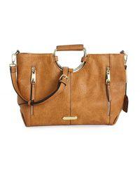 Max Studio Tebon Shoulder Bag - Brown