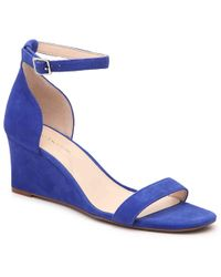 Enzo Angiolini Shalyn Wedge Sandal - Blue