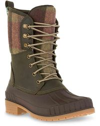 Kamik Sienna 2 Waterproof Winter Boots - Green