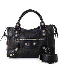 Balenciaga | Giant City Leather Shoulder Bag | Lyst