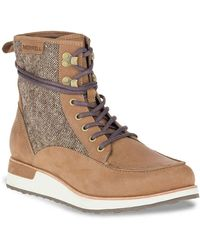 Merrell Roam Mid Hiking Boot - Brown