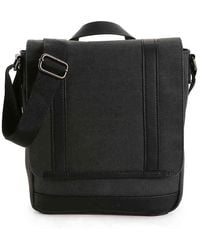 Kenneth Cole Reaction Canvas Small Messenger Bag - Multicolor