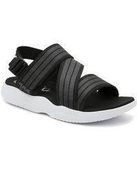adidas 90s Regular Fit Swim Slide Sandals - Black