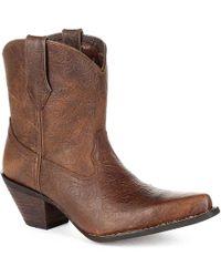 Durango - Western Embossed Cowboy Boot - Lyst