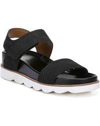 Franco Sarto India Wedge Sandal - Black
