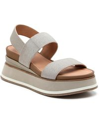 Crown Vintage Perrin Wedge Sandal - Metallic