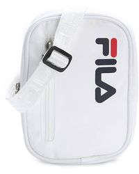 Fila Heritage Crossbody Bag - White