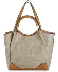 Sondra Roberts Faux Leather Shoulder Bag - Multicolor