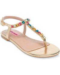 Betsey Johnson Rome Sandal - Multicolor
