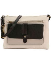 Fossil - Kinley Leather Crossbody Bag - Lyst