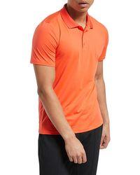 Reebok Workout Ready Polo Shirt - Orange