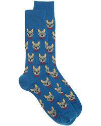 Hot Sox - Frenchie Crew Socks - Lyst