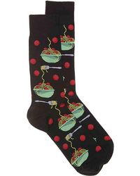 Hot Sox - Meatballs Crew Socks - Lyst