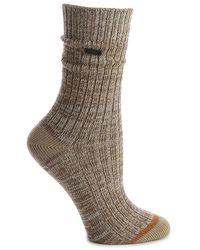 Sorel Spacedye Crew Socks - Brown