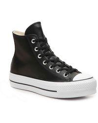 Converse - Chuck Taylor All Star High-top Platform Sneaker - Lyst