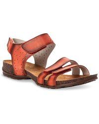 Propet Farrah Sandal - Orange